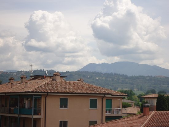 Hotel Miravalli: View from the roof terrace