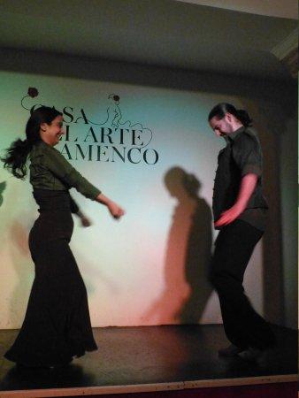 Casa del Arte Flamenco: Flamenco dancers