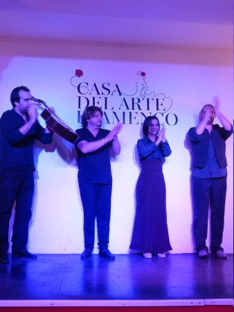 Casa del Arte Flamenco: The whole group of performers