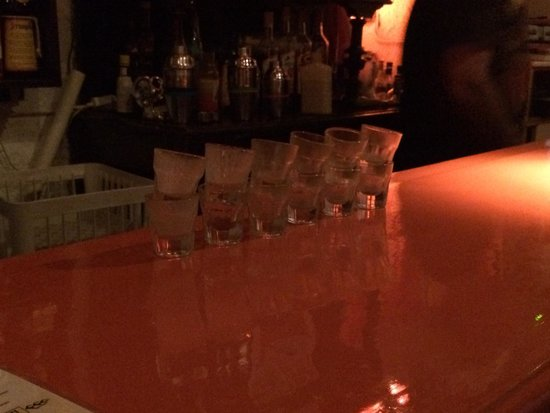 The Orange Bar: Shots!!