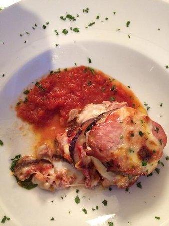 Mascalzone Chalet: parmigiana di tonno