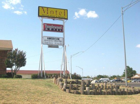 Frederick, OK: Tanglewood Motel