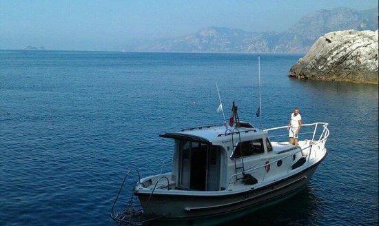 Hotel Villa Bellavista : Boat