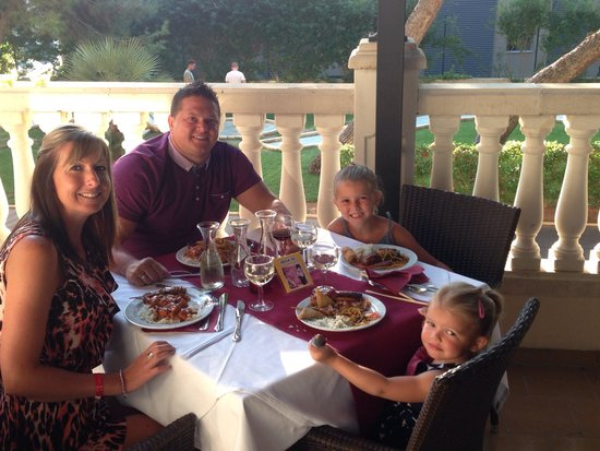 Palma Bay Club Resort: At the free Indian restaurant on site