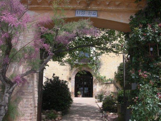 Hostal del Castell de Gimenelles : Entrada