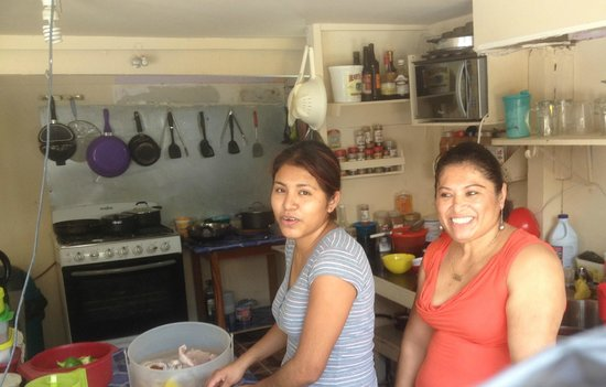 Belita's Deli: Belita (right) with daughter Stephanie