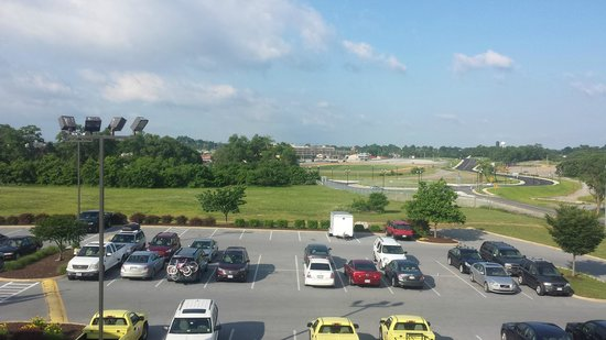 Holiday Inn Express Charles Town : View toward Horse Race Track from Room