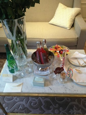Hotel Hermitage Monte-Carlo: Welcome Treats