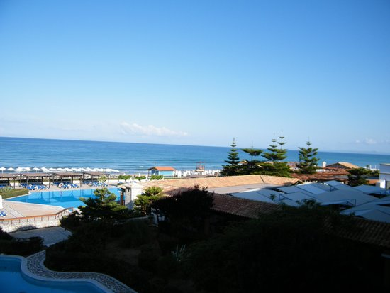 Aldemar Olympian Village: What a view to wake up to !!!
