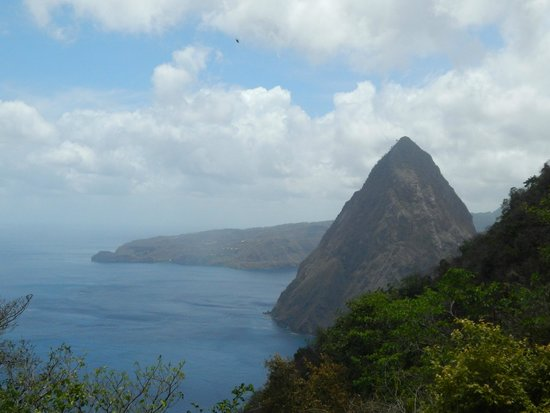 Pitons : The half way view, if you want the view from the top, get climbing!