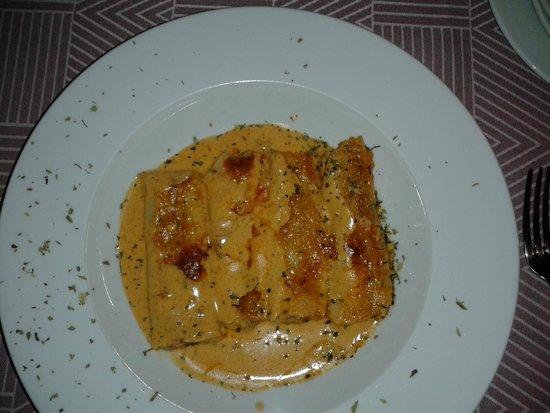 Hostal del Castell de Gimenelles: Canalones de hongos