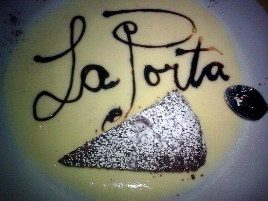 Osteria La Porta : un dolce...................personalizzato