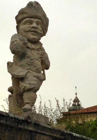 Villa Valmarana ai Nani: Another of the dwarf
