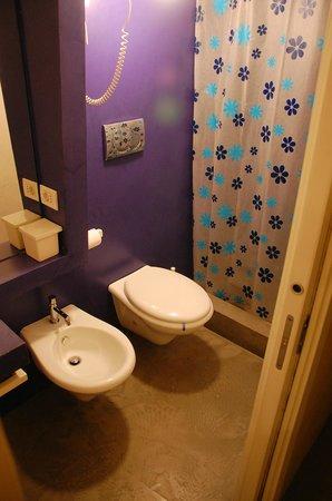 About B&B: Clean bathroom, hot shower