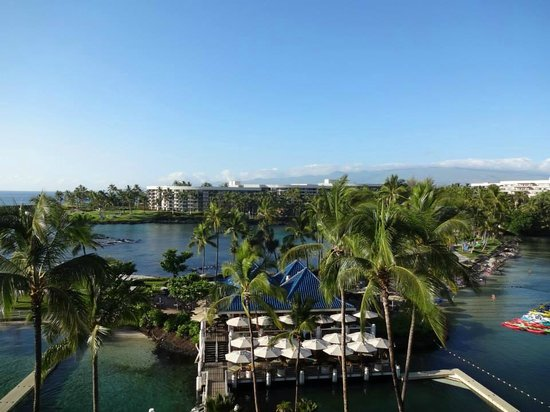 Hilton Waikoloa Village: View from room