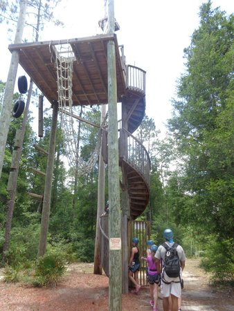 Adventures Unlimited Outdoor Center: First Tower