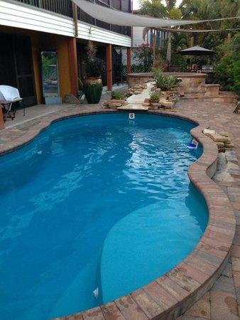 #1 Island Hideaway : Pool behind Island Hideaway at 165 Anchorage Street