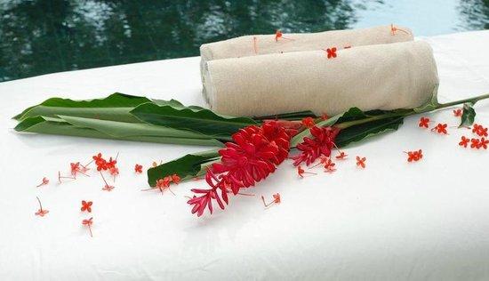 Casas de Soleil : Massage