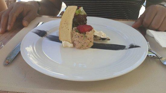 Gran Caribe Resort: Ensalada campesina... Restaurante Sunset Grill