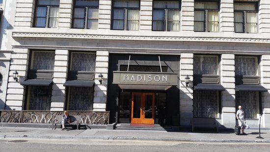 Madison Hotel: front view