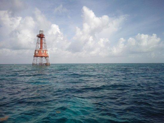 Silent World Dive Center: Carey's Fort Lighthouse