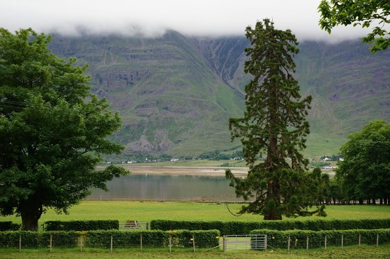 The Torridon Inn : View from grounds