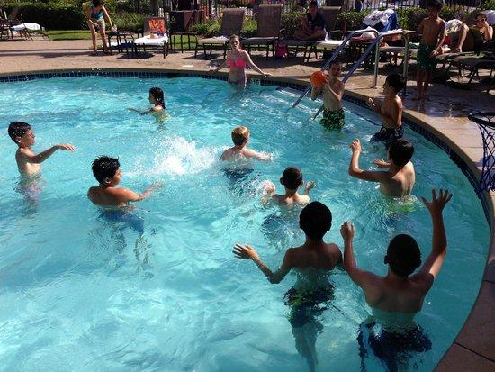 The Sheraton San Diego Hotel & Marina : Our boys having fun