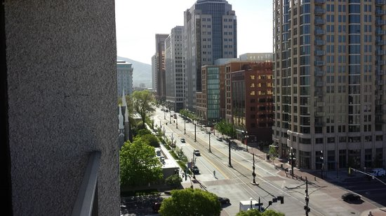 Salt Lake Plaza Hotel : View from our room