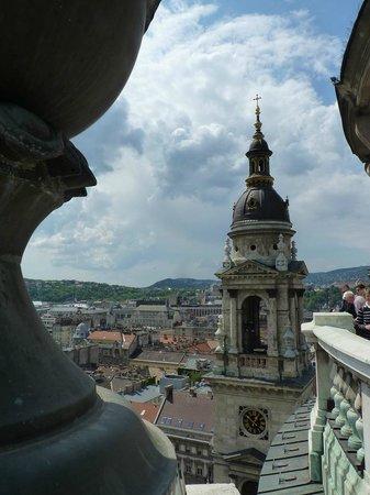 St. Stephen's Basilica (Szent Istvan Bazilika): From the dome