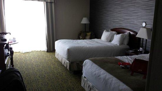 Salt Lake Plaza Hotel : Our room