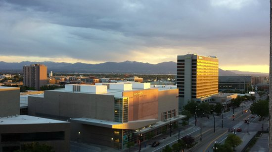 Salt Lake Plaza Hotel: View from our room