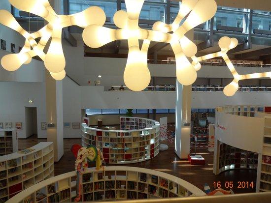 Bibliothèque centrale (Openbare Bibliotheek) : espaços lindos