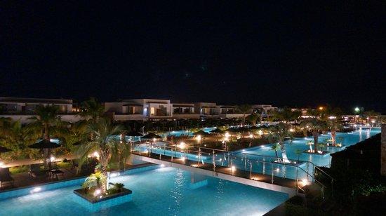 Marmari, Grecia: Mysigt på kvällen.