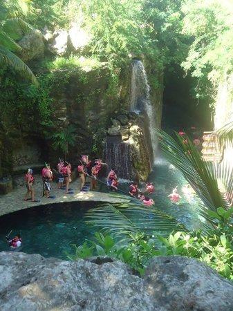 Xcaret Eco Theme Park: Rios Subterrâneos