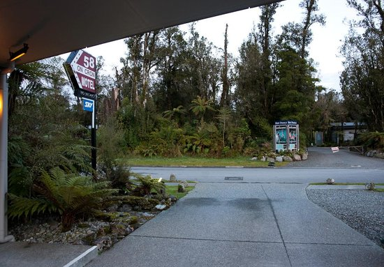 58 On Cron Motel: opposite Glacier Hotpools