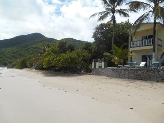 Sebastian's on the Beach: spiaggia e camere vista mare
