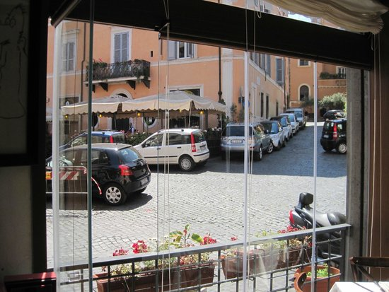 Osteria La Gensola : view from our table