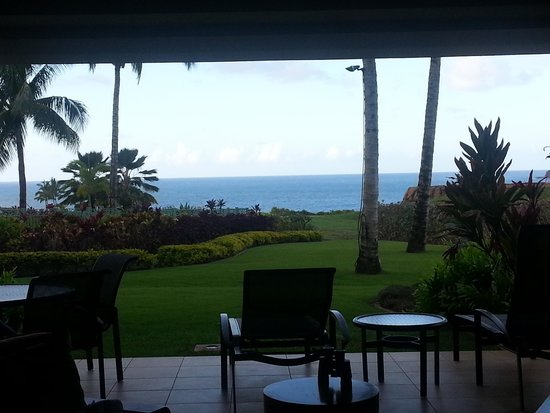 Marriott's Kauai Lagoons - Kalanipu'u: View from the room