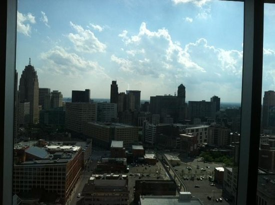Greektown Casino Hotel: this was a view from our room