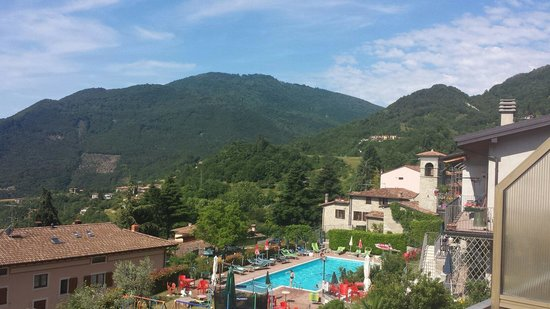 Hotel Residence Elisa: Panorama dalla camera