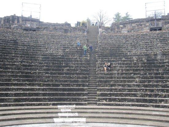 Théâtres Romains de Fourvière : Vista del recinto