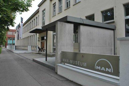 MAN Museum: 博物館入り口