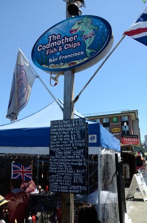 The Codmother Fish & Chips : street view