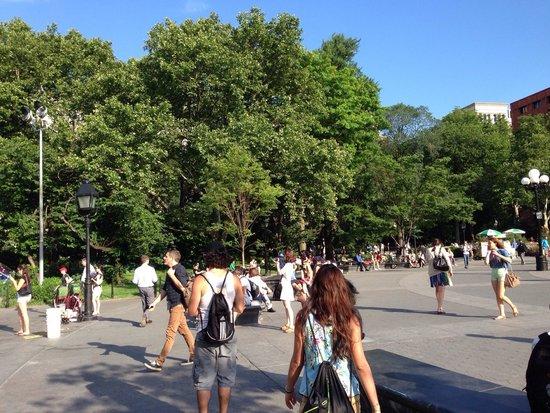 Greenwich Village : Secondo me,uno dei parchi più belli di NY