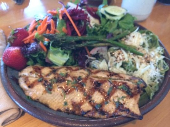Angry Trout Cafe: Grilled trout entree