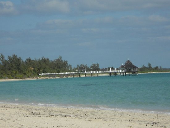 Kamalame Cay: Spa at the end of the pier