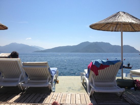 Grand Yazici Club Turban: lekker in het zonnetje op de pier