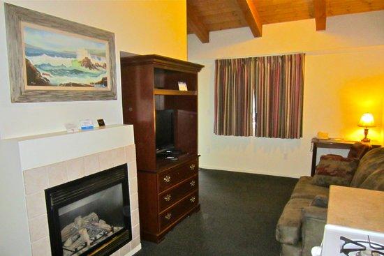 Bide-A-Wee-Inn & Cottages : livingroom