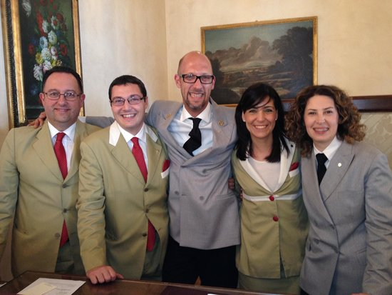 Belmond Grand Hotel Timeo: Steven and the Timeo's friendly front of house staff