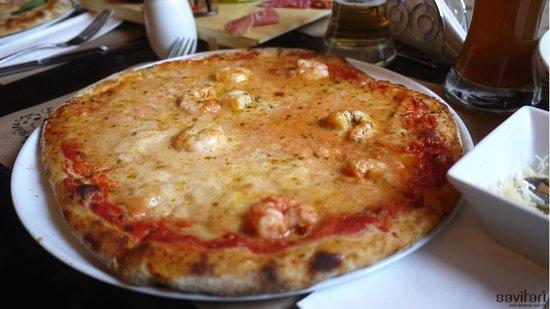 La Finestra: Pizza Gamberi